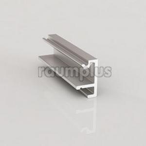 Заглушка под направляющую серебро