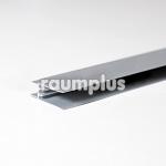 Профиль горизонтальный нижний neo серебро