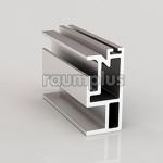 Профиль вертикальный  S серебро