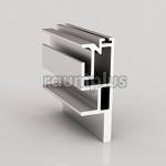 Профиль вертикальный M серебро