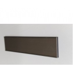 Профиль декоративный 18мм, темная бронза